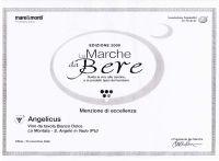 Menzione di eccellenza - Angelicus - 23 Novembre 2008
